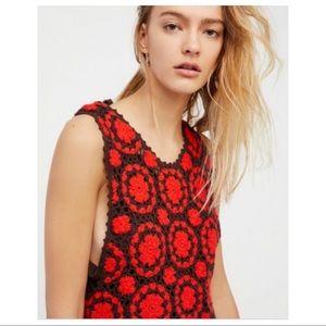 Free People | Delilah Crochet Shift Dress